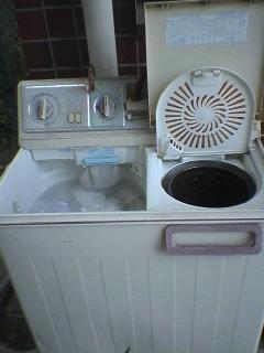 2槽式洗濯機研修(*゜ー^)b
